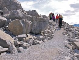 Guided Frank Slide Trail Hike